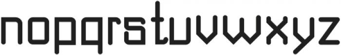 DOMINO Bold ttf (700) Font LOWERCASE