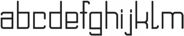 DOMINO Regular ttf (400) Font LOWERCASE