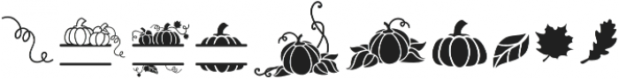 DOP_Fall_Leaves otf (400) Font OTHER CHARS