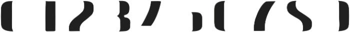 Doblo Fill A otf (400) Font OTHER CHARS