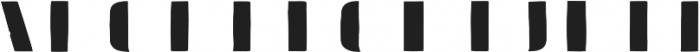 Doblo Fill A otf (400) Font UPPERCASE