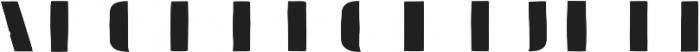 Doblo Fill A otf (400) Font LOWERCASE