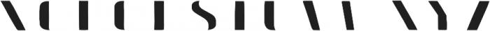 Doblo Fill B otf (400) Font UPPERCASE