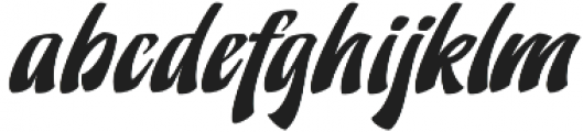 Doedel Alternate 3 otf (400) Font LOWERCASE