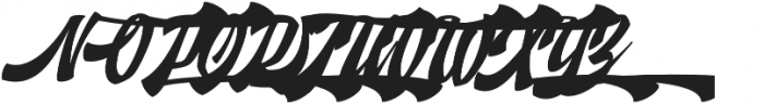 Doedel Alternate 4 otf (400) Font UPPERCASE