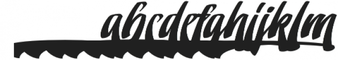 Doedel Alternate 4 otf (400) Font LOWERCASE