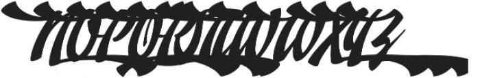 Doedel Alternate 5 otf (400) Font UPPERCASE