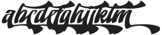 Doedel Alternate 6 otf (400) Font LOWERCASE