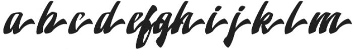 Doedel Alternate 7 otf (400) Font LOWERCASE