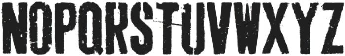 Dogjaw otf (400) Font UPPERCASE