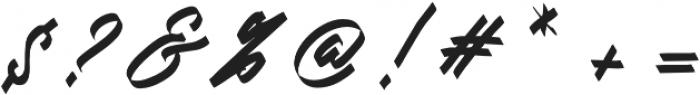 Doglas otf (400) Font OTHER CHARS