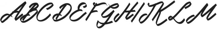 Doglas otf (400) Font UPPERCASE