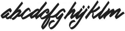 Doglas otf (400) Font LOWERCASE