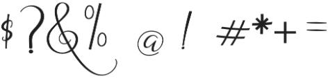 Dogma Script Regular otf (400) Font OTHER CHARS