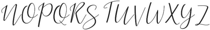 Dogma Script Regular otf (400) Font UPPERCASE
