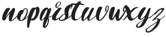 Dogmatic Regular otf (400) Font LOWERCASE