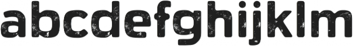 Dogtown One otf (400) Font LOWERCASE