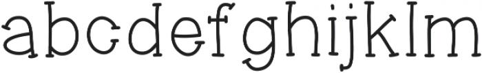 DolceVita ttf (400) Font LOWERCASE