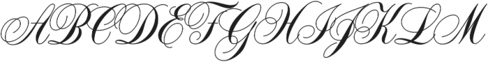 Dolcetto Bold otf (700) Font UPPERCASE