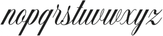 Dolcetto Bold otf (700) Font LOWERCASE