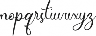 Dollie ttf (400) Font LOWERCASE