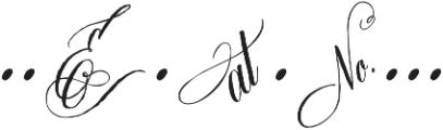 DomLovesMary Addons Regular otf (400) Font OTHER CHARS
