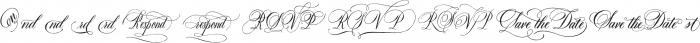 DomLovesMary Addons Regular otf (400) Font LOWERCASE