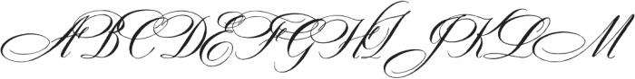 DomLovesMary Contextual Regular otf (400) Font UPPERCASE