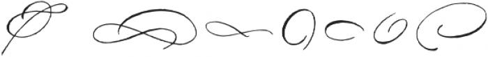 DomLovesMary Flourishes One Regular otf (400) Font OTHER CHARS