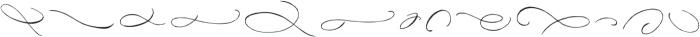 DomLovesMary Flourishes One Regular otf (400) Font UPPERCASE