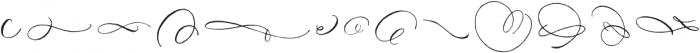 DomLovesMary Flourishes One Regular otf (400) Font LOWERCASE