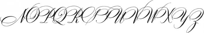 DomLovesMary Stylistic Regular otf (400) Font UPPERCASE