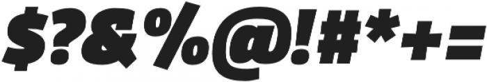 Domotika Black Italic otf (900) Font OTHER CHARS