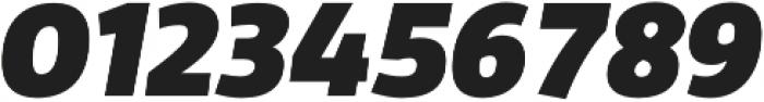 Domotika Heavy Italic otf (800) Font OTHER CHARS