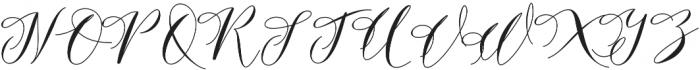 Donita Bonus Regular otf (400) Font UPPERCASE
