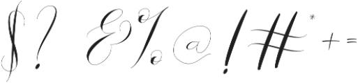Donita Handscript Regular otf (400) Font OTHER CHARS