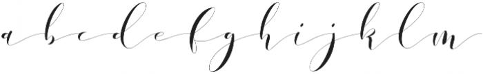 Donita Handscript Regular otf (400) Font LOWERCASE
