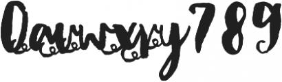 DonitaScriptXtras ttf (400) Font OTHER CHARS