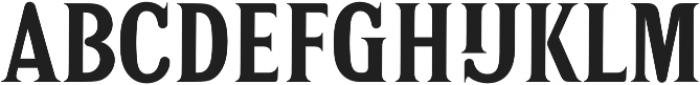DonkerCaps Bold otf (700) Font LOWERCASE
