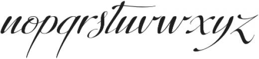 Donna Lena Slanted otf (400) Font LOWERCASE
