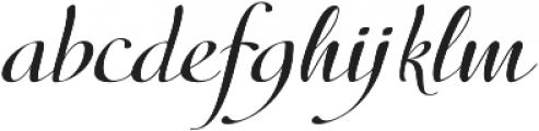 Donna Lena otf (400) Font LOWERCASE