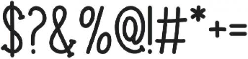 Donnybrook otf (400) Font OTHER CHARS