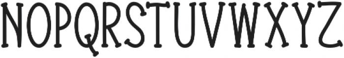 Donnybrook otf (400) Font LOWERCASE