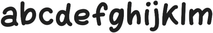 Donuts Regular otf (400) Font LOWERCASE