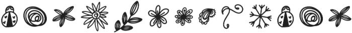 DoodleBug1 Regular otf (400) Font UPPERCASE