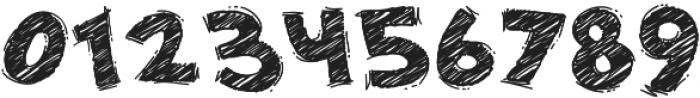 DoodleChalk Voysla otf (700) Font OTHER CHARS