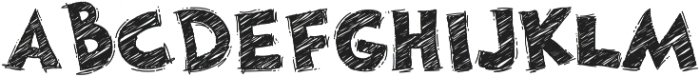 DoodleChalk Voysla otf (700) Font LOWERCASE