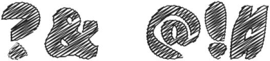 DoodleClassicRegular otf (400) Font OTHER CHARS