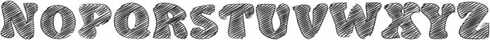 DoodleClassicRegular otf (400) Font UPPERCASE