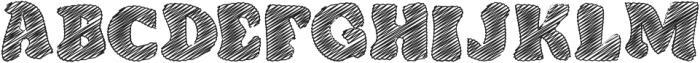 DoodleClassicRegular otf (400) Font LOWERCASE